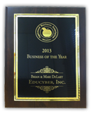 EduCyber was awarded 2013 Business of the Year by Applewood Business Association